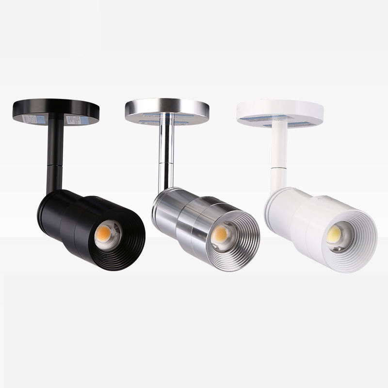 Mini Zoomables Led Spotlight Cob Cree Puce Spot Led Spots 3 w 6 w 220 v 3000 k 4000 k 6000 k Musée Armoires D'éclairage