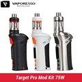 Original Vaporesso Target Pro Mod Kit 75W Temp control Box Mod VTC Kit 2.5 ml tank upgrade Target 75W e electronic cigarette