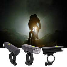 Practical LEADBIKE LED Mountain Bike Bicycle Front Light Durable Night Front Head Light Bike Accessories Black NEW Arrival