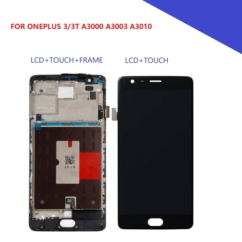 5 5 LCD Display for Oneplus Three T 1 3T A3010 A3003 AMOLED LCD Screen Touch