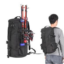 Muitifunction Cylindrical Fishing Rod Wheel Backpack Portable Crossbody Bag Outdoor Camping Tools