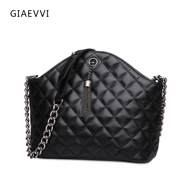 ФОТО GIAEVVI 2016 brand women shoulder bag ladies crossbody luxury handbags genuine leather handbag shell bag women messenger bags
