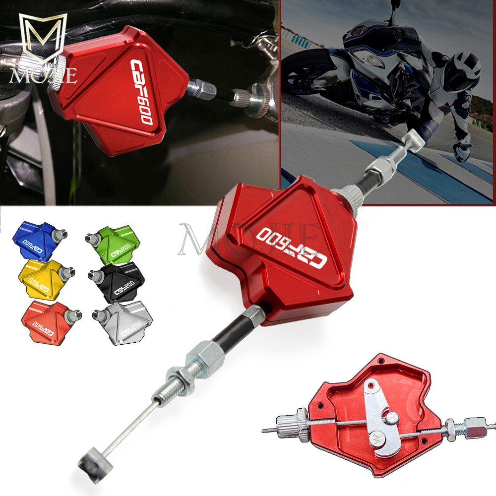 Motorcycle Accessories CNC Aluminum Stunt Clutch Lever CBF600 Easy Pull Cable System For <font><b>Honda</b></font> CBF600/SA <font><b>CBF</b></font> <font><b>600</b></font> SA <font><b>2006</b></font>-2013 image