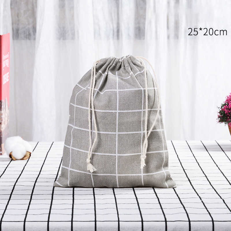 ONEUP Портативные Сумки на шнурке, Хлопковая сумка, сумки для хранения, дорожная сумка для макияжа, сумка для одежды, обуви, сумка для организации хранения одежды