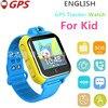 English 3G Smart Watch 3G Wifi Quad Core Support SIM Smartwatch GPS Watch Children Kid Clock