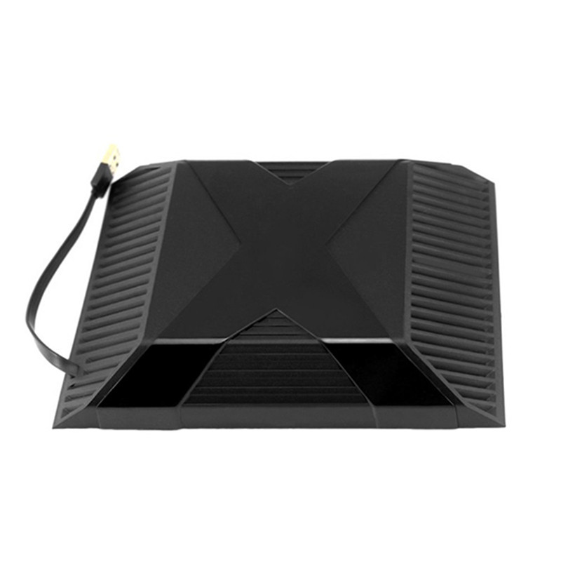 For Xbox One Intercooler Device Temperature Down USB Cooler Clip On Cooling Fan(Black)