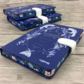 Retrp vintage Composition notebook with paper book diary copybook school Collection creative office Notepad design Textbook XM