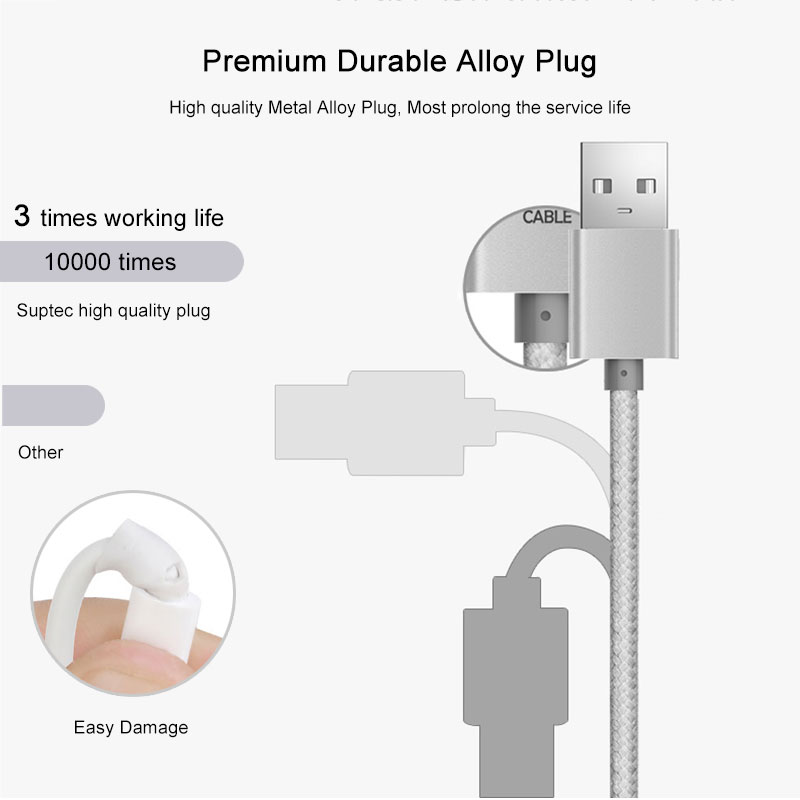 US $1.57 31% OFF|SUPTEC 2M 3M USB Cable for iPhone 4 4S Nylon ided on pin lights, pin battery, pin connector, pin assembly, pin wiring order, pin clutch, pin parts diagram, pin relay, pin switch,