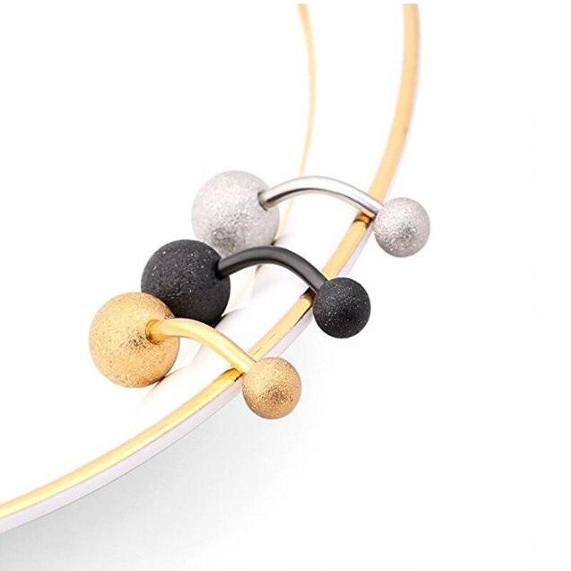 Купить 30 шт/упак чистый цвет пупка пирсинг кольцо для два шара штанга
