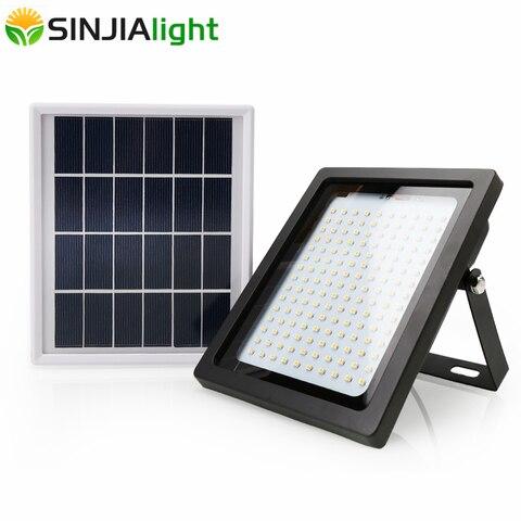 150 leds luz solar pir sensor de movimento deteccao projector lampada parede lampadas solares jardim