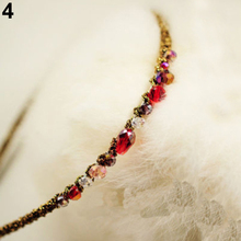 Hot Fashion Women Girls Rhinestone Crystal Headband Barrette Accessories Hairpin Clip  Hairwear 5BV3 7EEZ
