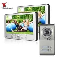 Free Shipping By DHL 7 Inch Cheap Multi Apartments Video Door Phone Villa Doorphone Door Intercom