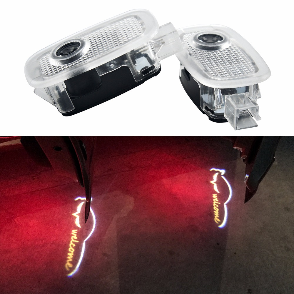 For Mercedes Benz W221 S Class S500 S350 S63 S65 Logo 2Pcs LED Car Door Courtesy Laser Projector Ghost Shadow Logo Light for toyota led car door courtesy laser projector led logo ghost shadow light for toyota prado camry carolla reiz sienna prius