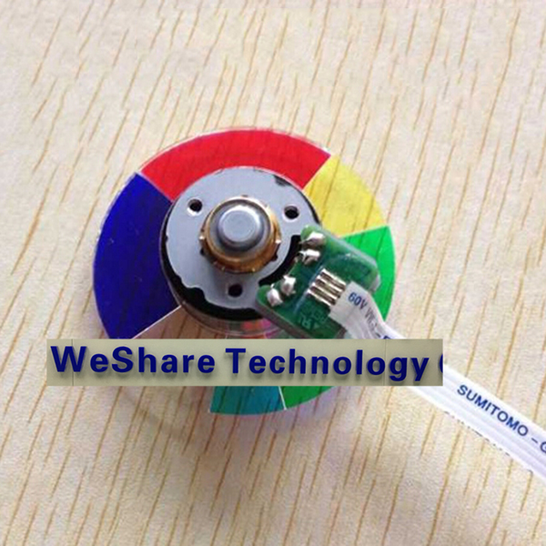 ФОТО Projector Color Wheel Model For Dell 4310wx Replacement Color Wheel Colour New
