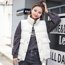 PinkyIsBlack 2018 Women Winter Warm Vest Thick Slim Two Sides Wear Female Autumn Jackets Waistcoat Velvet