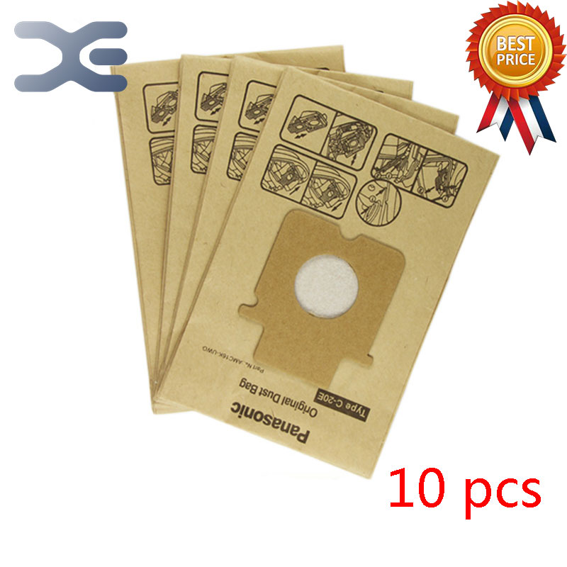 10Pcs High Quality Compatible With Panasonic Vacuum Cleaner Accessories Garbage Cleaner Paper Bag MC-E7101 / E7302 / E7111 10pcs high quality adaptation panasonic vacuum cleaner accessories garbage cleaner paper bag c 13 mc ca291 ca293ca391
