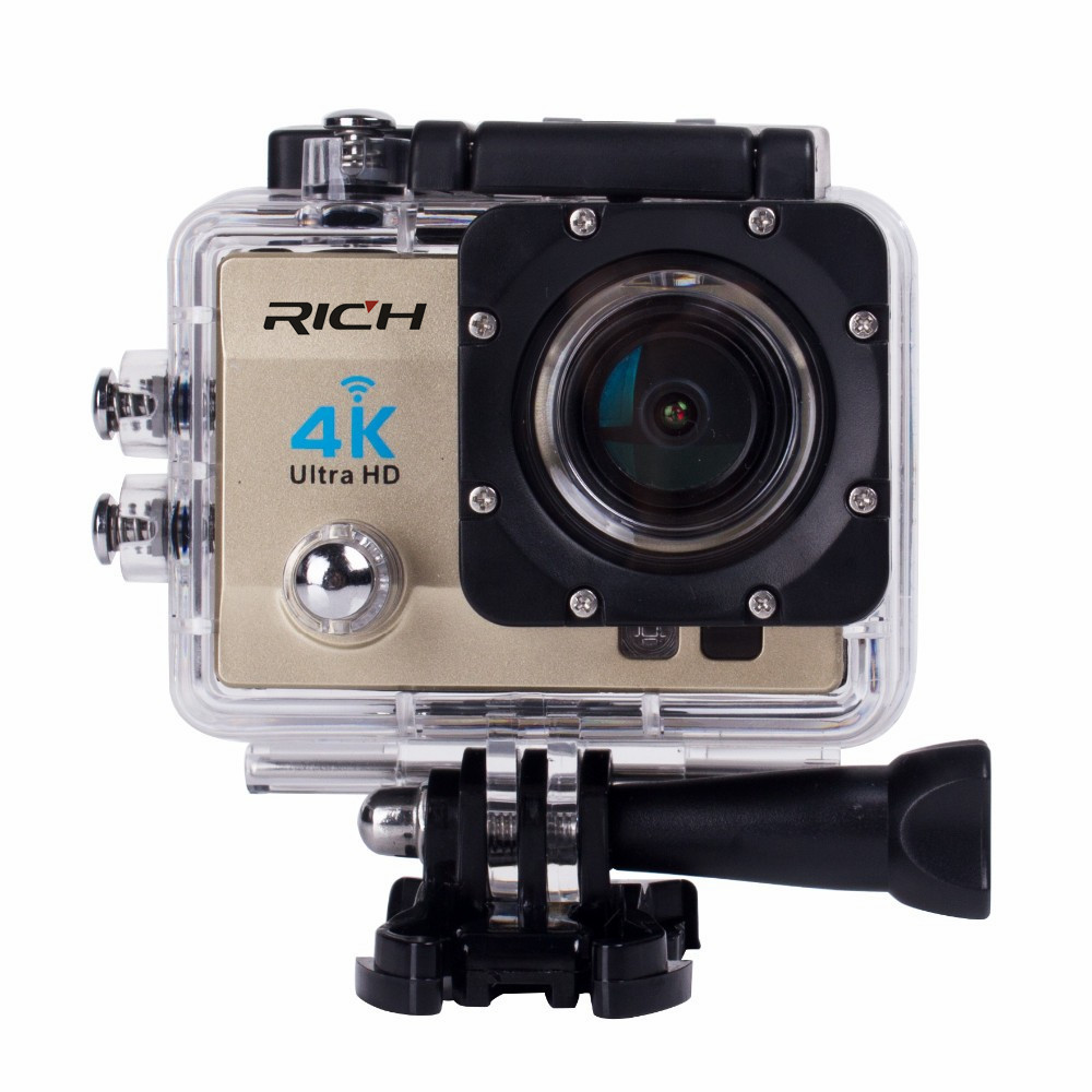 Andoer Q3H 2 Ultra-HD LCD 4K 25FPS 1080P 60FPS Wifi Cam FPV Video Output 16MP Action Camera