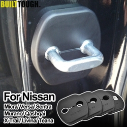 Xukey Door Lock Cover Buckle For Nissan Micra Versa Tiida Sentra Murano Qashqai For Infiniti Ex 2007 2008 2009 2010 2012 2013