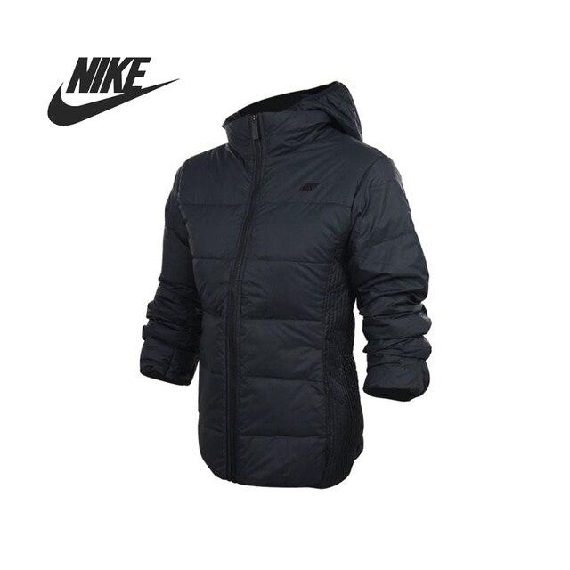 Оригинальные Nike женские пуховик windprood тепловой зимняя одежда Спортивная 541419-010 бесплатная доставка