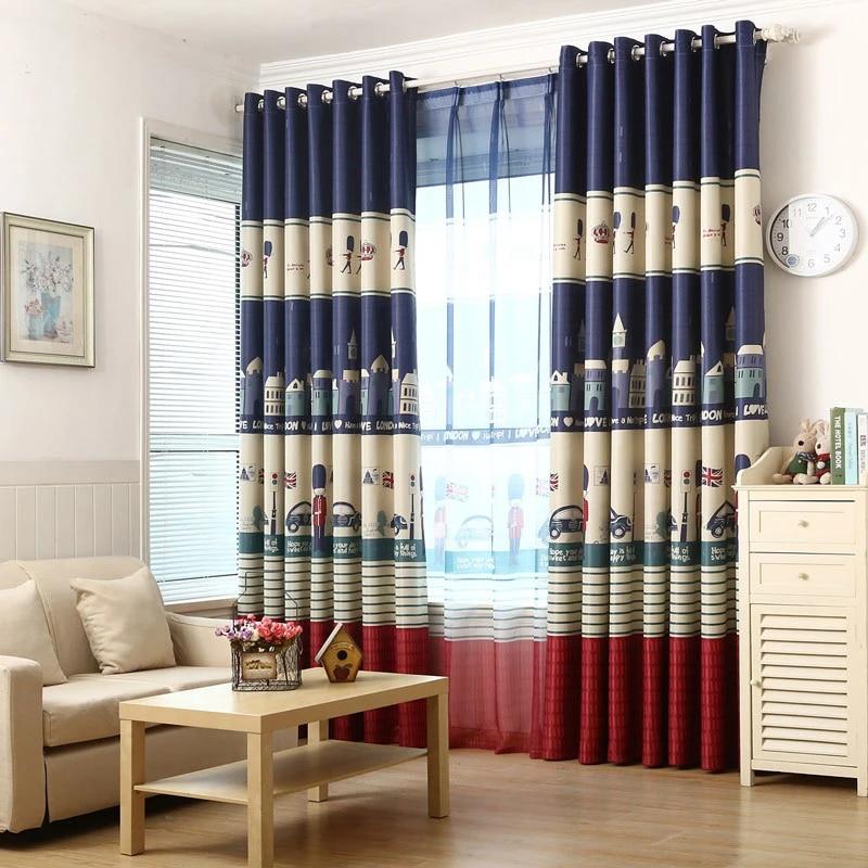 rideaux design de londres pour chambre de garcon salon chambre de bebe panneau de porte stores