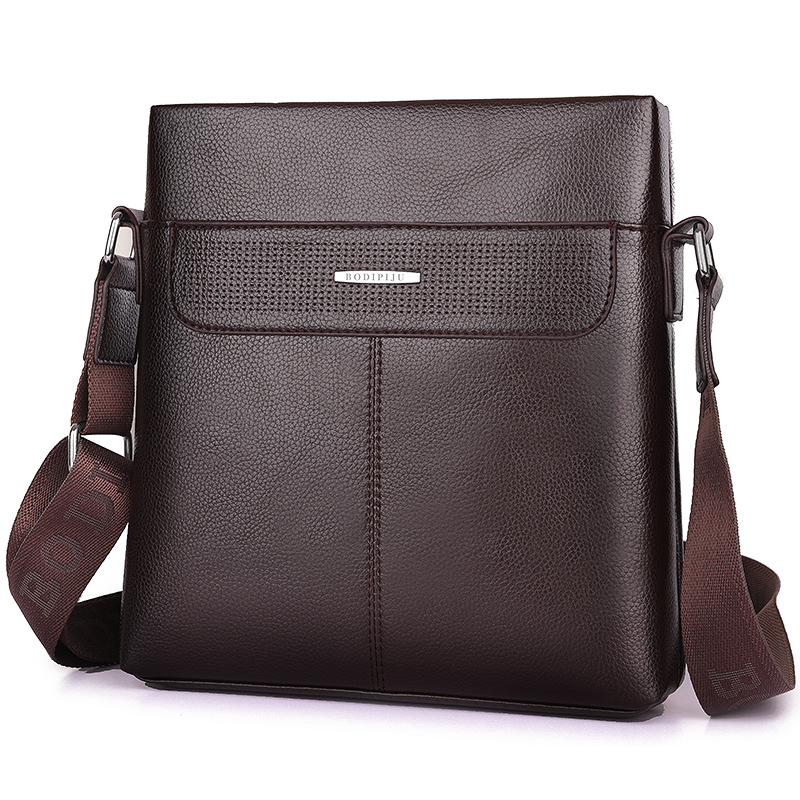 Brand Men Briefcase Bags Large New Business High Quality Leather Man Shoulder Crossbody Bag Black Brown Male Bag Hobos qiao bao man bag 2017 new famous brand high quality fashion men top leather crossbody bag male messeng bags for man