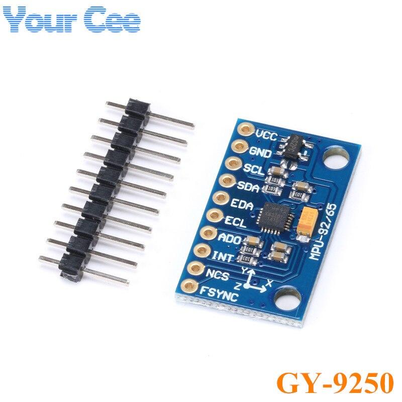10 pcs SPI IIC GY 9250 MPU 9250 MPU 9250 9 Axis Attitude Gyro Accelerator Magnetometer