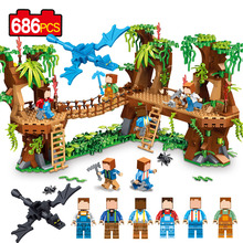 686 pcs Tree House New Building Blocks 0533 lepin 2017 Christmas Gift Action Figure Toys For Children