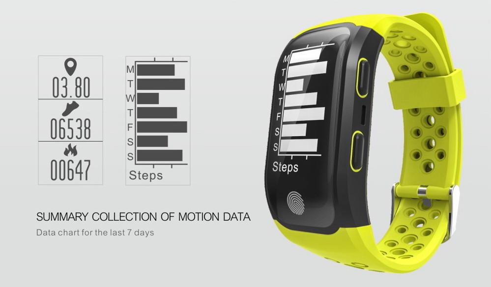 Makibes G03 GPS Smart Bracelet (12)