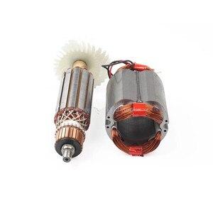 Image 4 - AC220 240V אבזור הרוטור גלגל מכון מנוע עבור מקיטה זווית מטחנות GA GA5030 GA4530 GA4030 GA5034 GA4534 GA4031 GA4030R GA4034