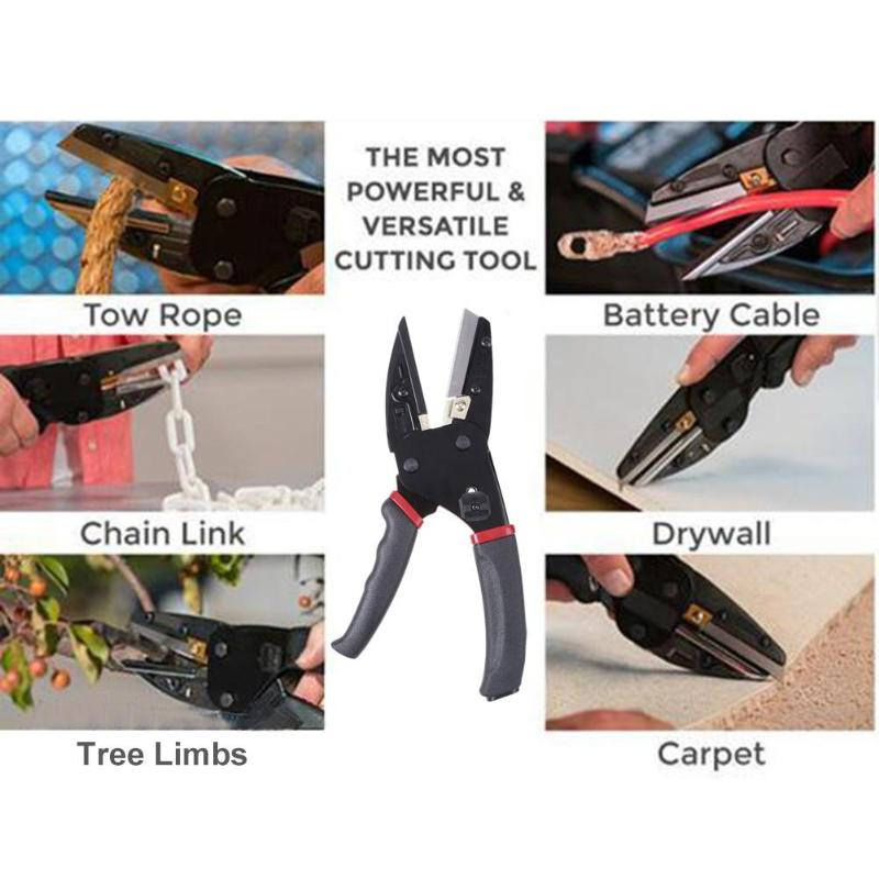 Hot 3 in 1 Garden Tool Tree Branch Pruning Tools Gardening Plant Pruner Multi-functional Auto Crimping Pliers Cutting