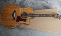 Bese Price Brand Classic Guitar 41 Taylor Acoustic Guitar Acacia Wood Top, Built in Pickup Free Shipping