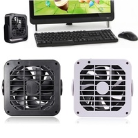 Flexible USB Fan Cooler Mini Fan 5V 360 Degree Rotation Super Mute Cooling Cooler Fan PC