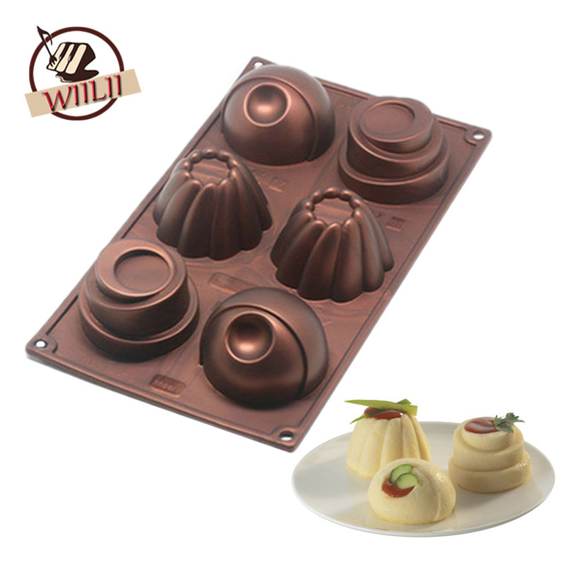 Silicone Baking Molds 5 Pack:Flexible Silicone Chocolate Candy Molds for Brownie Topper,Cake,Gummy /& Hard Candies,Keto Fat Bombs Flower,Heart,Star,Round and Number Shapes in moule Silicone Set.