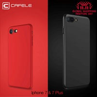 CAFELE luxury Hard PC Case For iphone 7 plus Fashion silky touch feel Slim Back Anti-fingerprint Phone Cover for iphone 7
