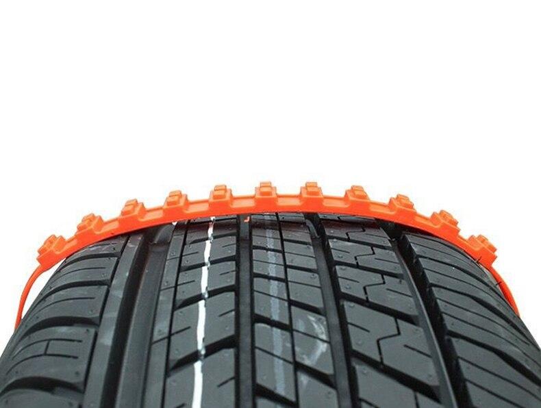 10 pcs Lotto Automobili Universale Mini di Plastica Spikes Per Pneumatici Catene Da Neve Inverno Pneumatici ruote Per Il trasporto del Camion Auto Suv Auto accessori