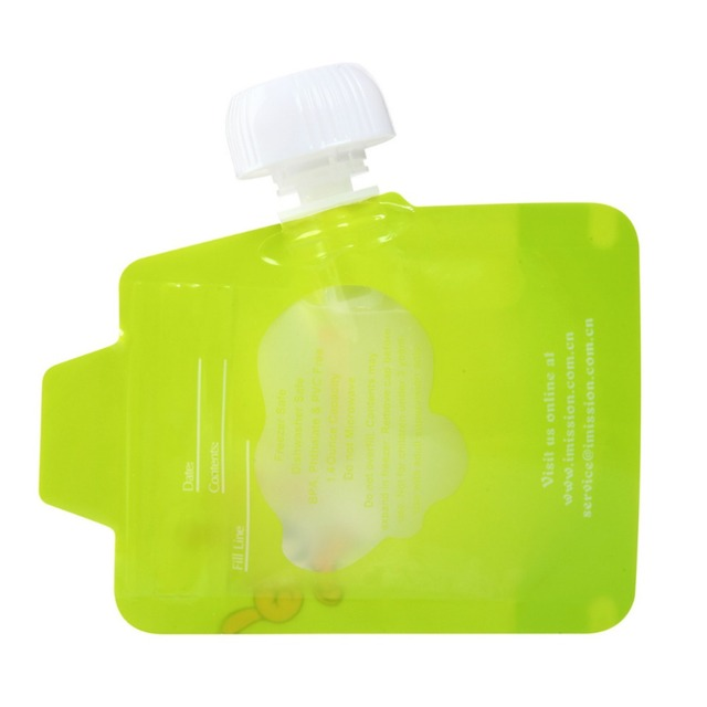 8pcs/lot Reusable Food Pouch Double Zipper Baby Food Pouches easy clean food storage bag Organic Topper Organizer insulation bag Accessories Feeding Infant (3-12 months) Shop by Age Toddler (1-3 years)