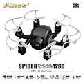 Bolsillo FQ777-126C Dron 4CH 6 Ejes Con Cámara HD 2MP Los Ojos Hexacopeter FPV Mini Drone RC Quadcopter RC Helicóptero