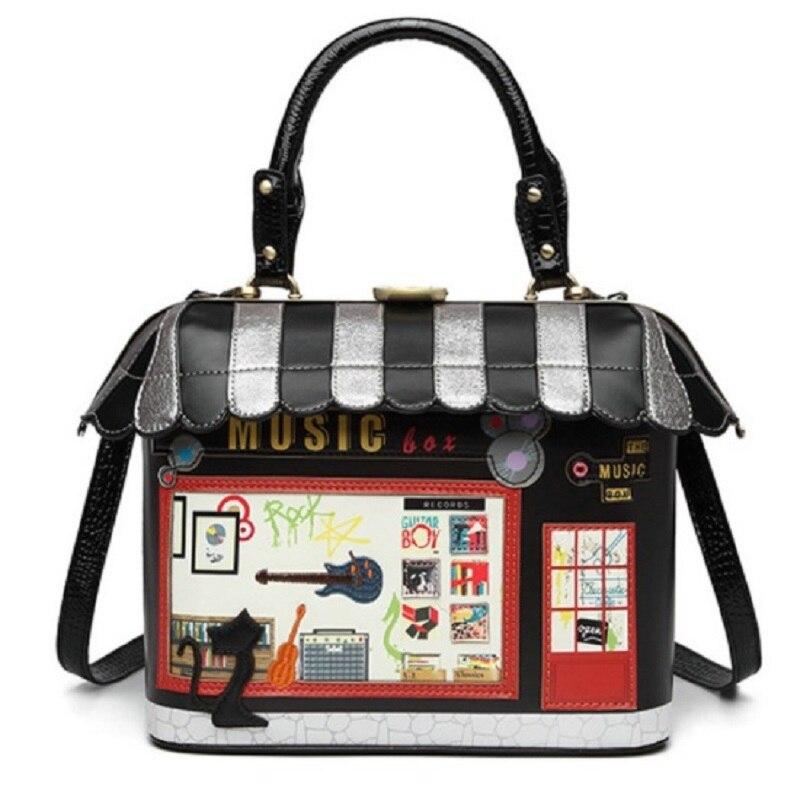 InterestPrint Shoulder Handbags Blue Zebra Stripes Animal Print Fur Shoulder Bag For Women