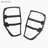 MZORANGE 2012 2017 Carbon Fiber Color Tail Light Cover For Ford Ranger T7 Accessories ABS Car