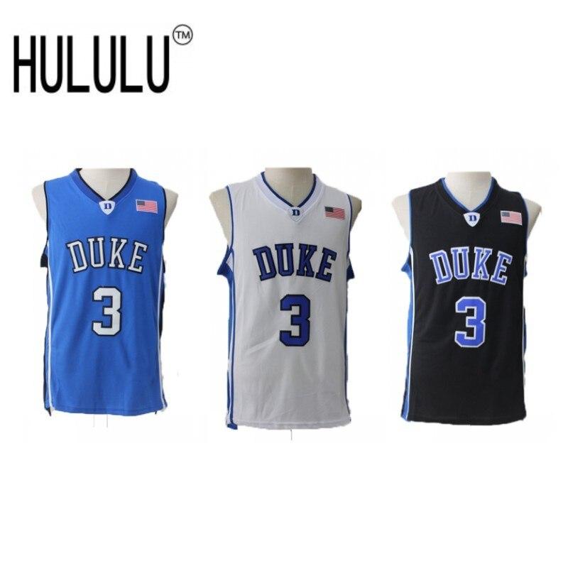 Cheap Grayson Allen Basketball Jerseys 3  Duke University Blue Devils  Throwback High Quality Retro Stitched Embroidery Shirts 52ef48c45