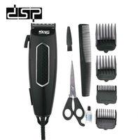 DSP Hair Clipper Beard Trimmer Shaving Hair Clipper Hairdressing Tool Set Men's Stainless Steel 220V 240V 12W