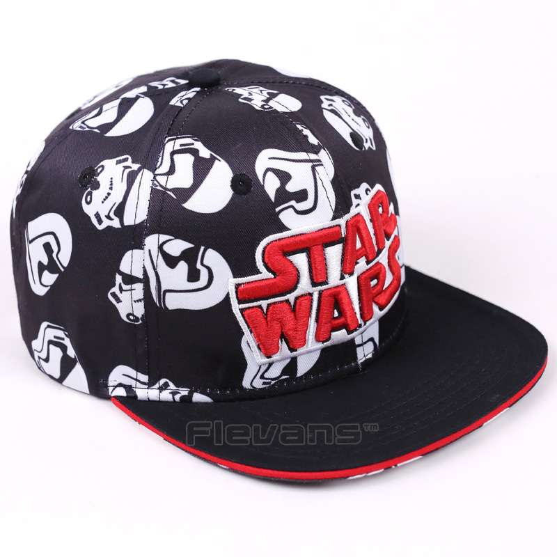 Star Wars Hip Hop Snapback Hat Stormtrooper Adult Baseball Cap  Fashion Men Women Sun Caps star wars stormtrooper b3838