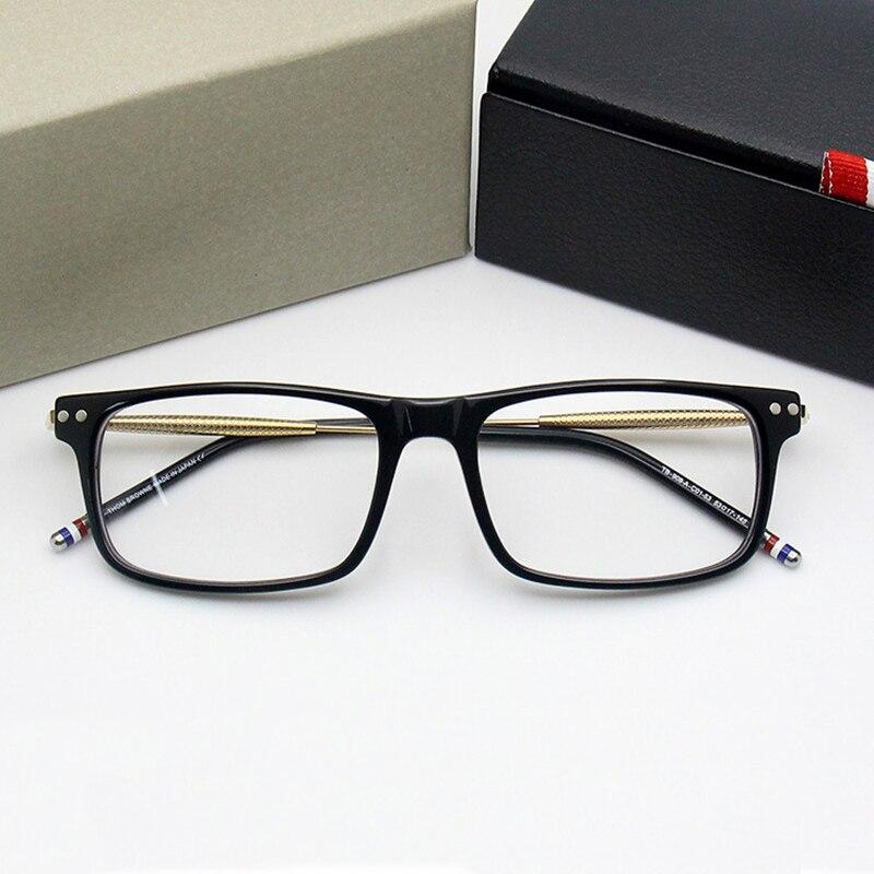 2018 New Arrival Computer Eyeglasses Men Square Computer Glasses Myopia High Quality Presciption Optical Eyewear Free