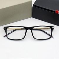 bf7df7db2 2018 New Arrival Computer Eyeglasses Men Square Computer Glasses Myopia  High Quality Presciption Optical Eyewear Free. 2018 Nova Chegada Óculos ...