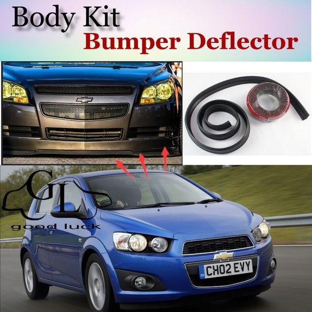 Bumper Lip Lips For Chevrolet Aveo T200 T250 T300 20022015 Car