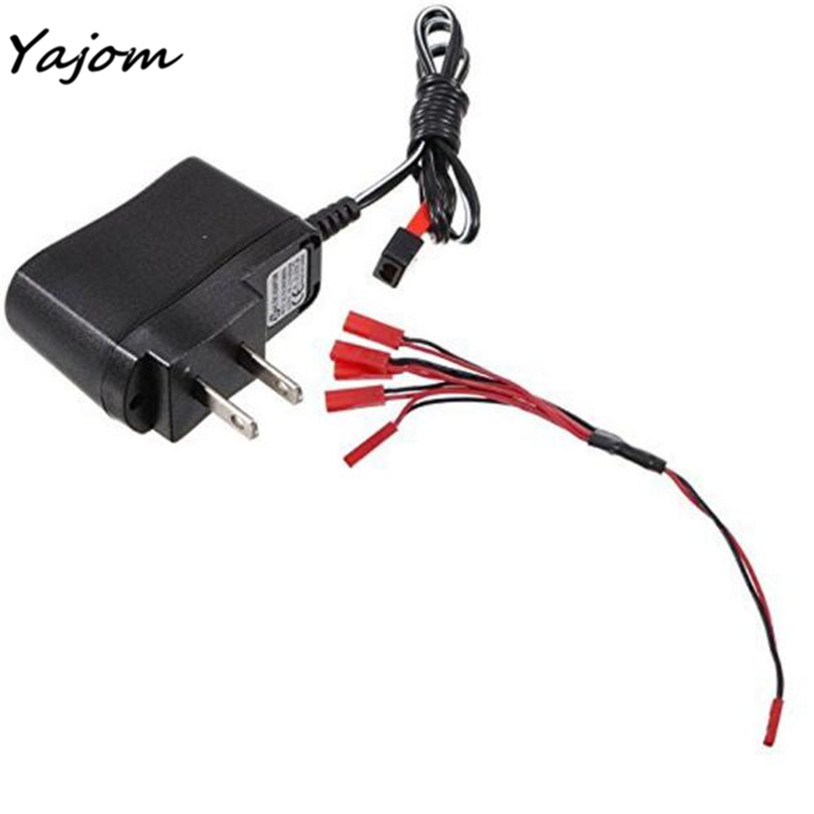 Free for shipping Battery Wall Charger with 1 to 5 Charging Cable JST Plug for Syma X1 UFO Brand New High Quality May 2