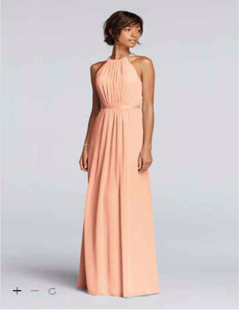Aliexpress buy 2016 chiffon bridesmaid dresses high beaded aliexpress buy 2016 chiffon bridesmaid dresses high beaded neckline with pleat bodice back and ribbon waistband jp291663 gowns from reliable chiffon ombrellifo Choice Image