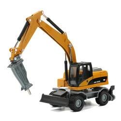 JINGBANG 1: 60 буровая каретка грузовик сплава модели автомобиля игрушки Kid игрушки для коллекции автомобиля автомобили мальчик подарок на Новый