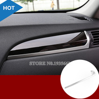 Inner Center Console Glove Box Moulding Cover Trim For BMW X3 F25 2011 2017 X4 F26 2014 2017 1pcs