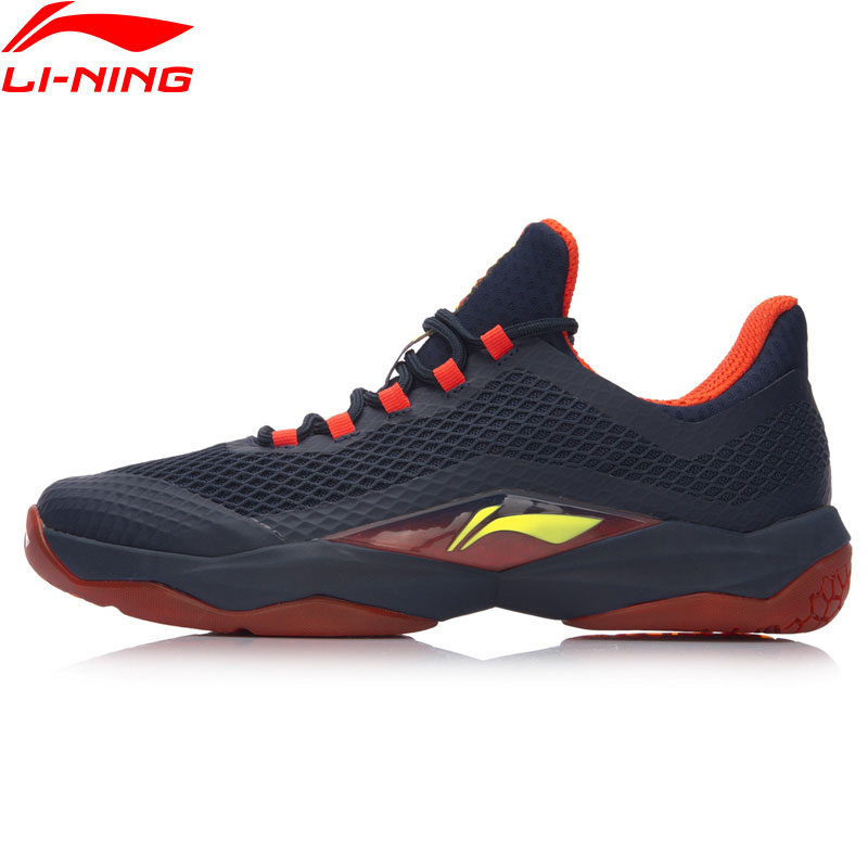 Li Ning Men SHADOW OF BLADE Badminton Training Shoes Wearable Breathable Sneakers LiNing Cloud Sports Shoes